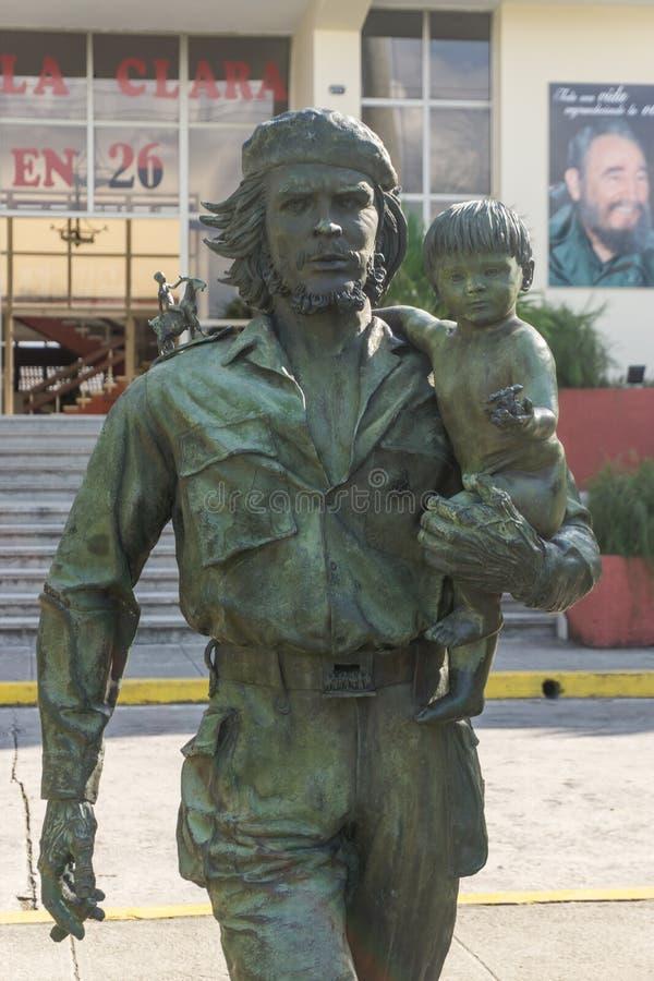 Che Guevara Monument i Santa Clara, Kuba arkivfoton