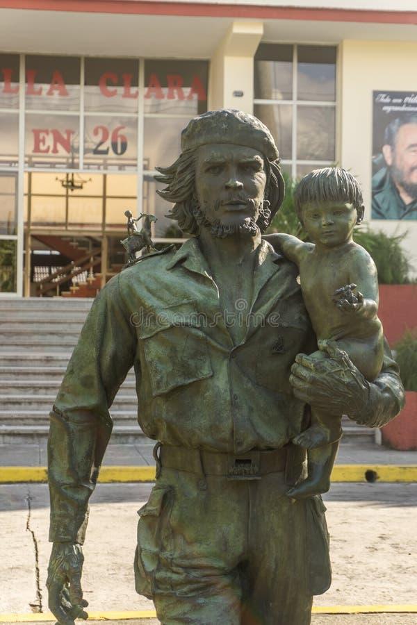 Che Guevara Monument i Santa Clara, Kuba royaltyfri bild