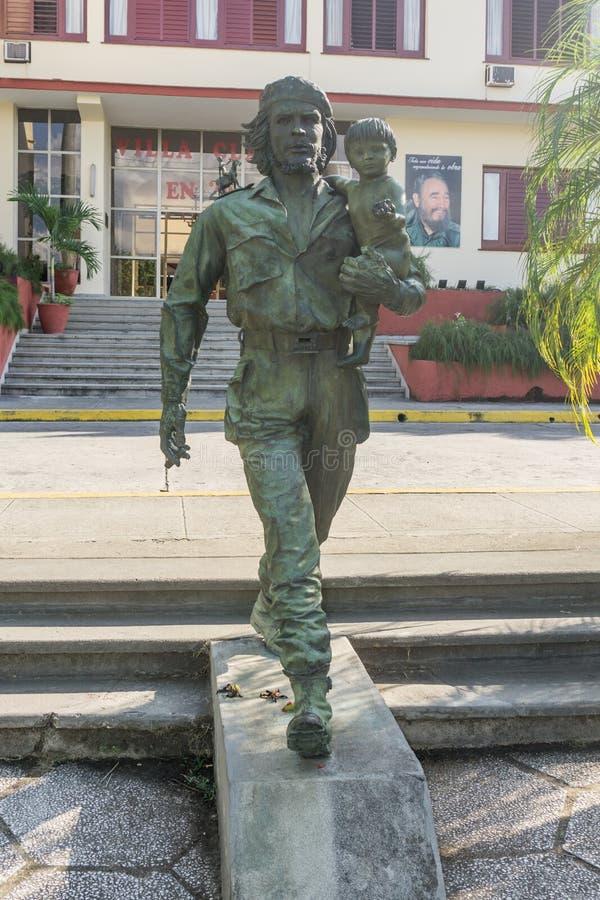 Che Guevara Monument i Santa Clara, Kuba fotografering för bildbyråer