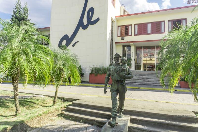 Che Guevara Monument i Santa Clara, Kuba royaltyfria bilder