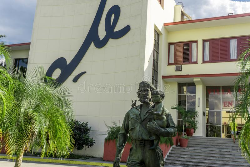 Che Guevara Monument i Santa Clara, Kuba royaltyfri foto