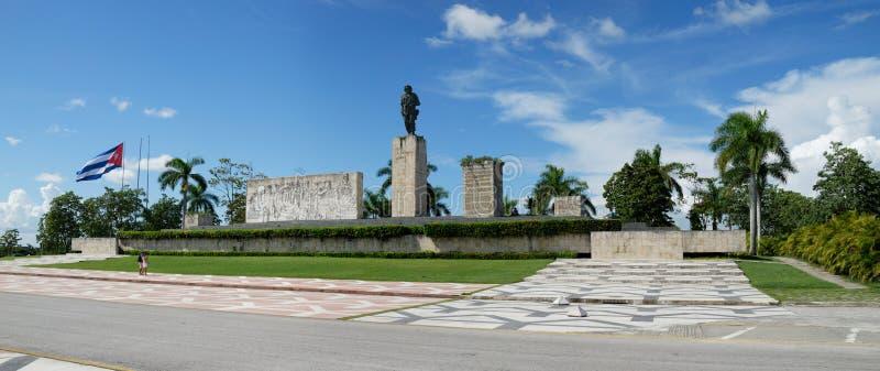 Che Guevara Monument, Santa Clara, Cuba. Panoramic view of Monumento Memorial Ernesto Che Guevara stock images