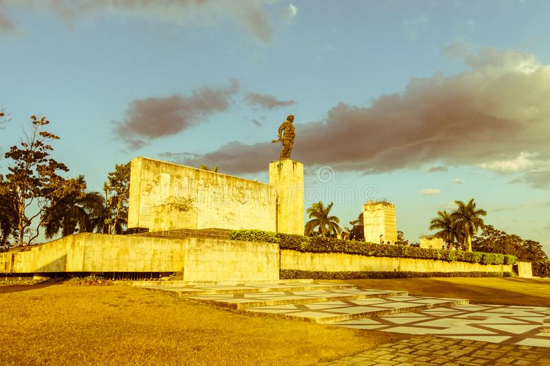 Che Guevara muzeum w Santa Clara i pomnik, Kuba obrazy royalty free
