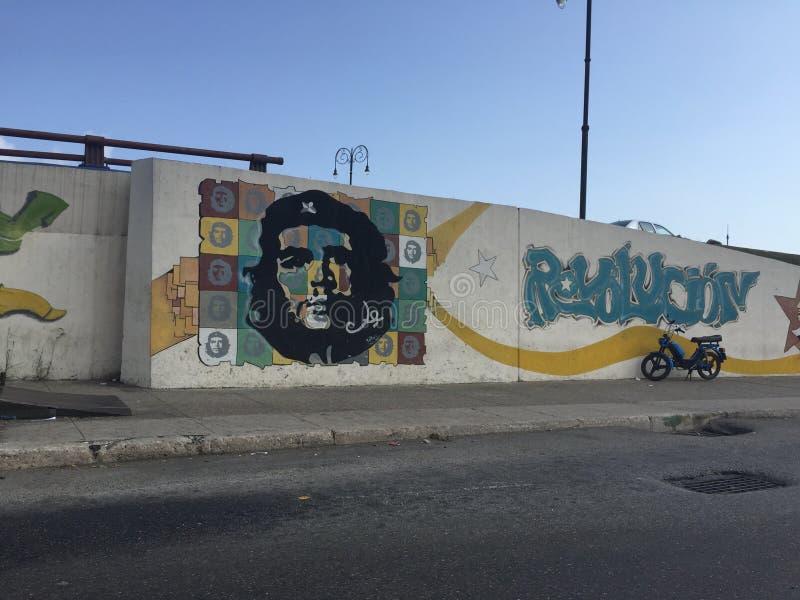 Che Guevara Painting photo libre de droits