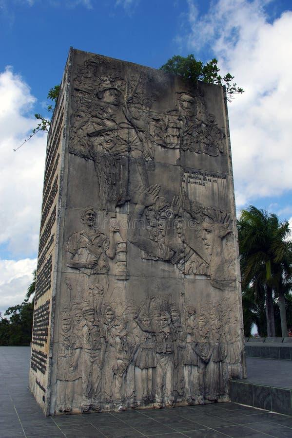 Che Guevara pomnik. obrazy stock