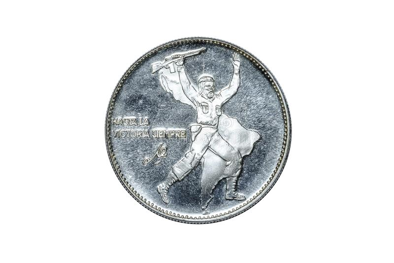 Che Guevara pomnika moneta zdjęcie royalty free