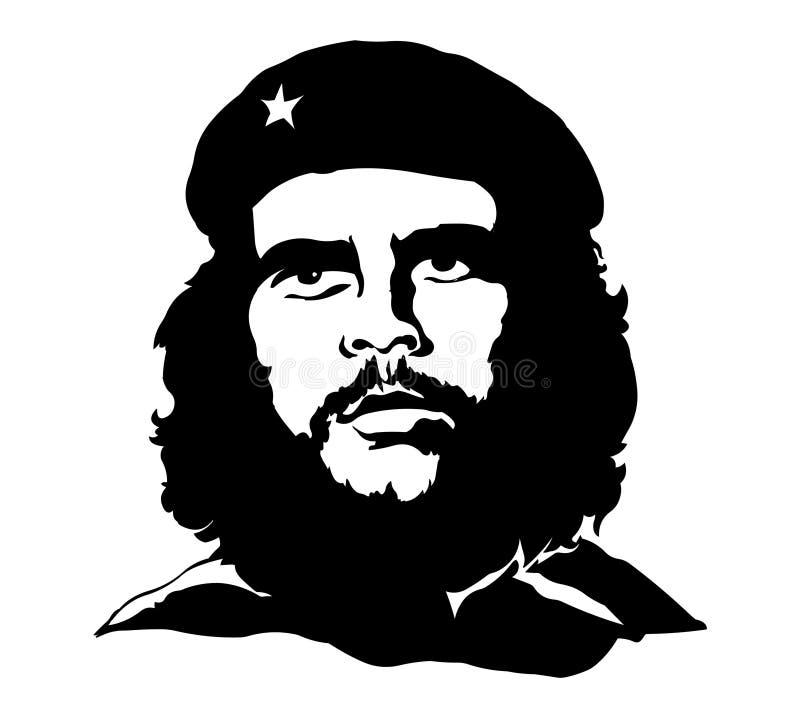 Che Guevara Portrait de vecteur de Che Guevara illustration de vecteur