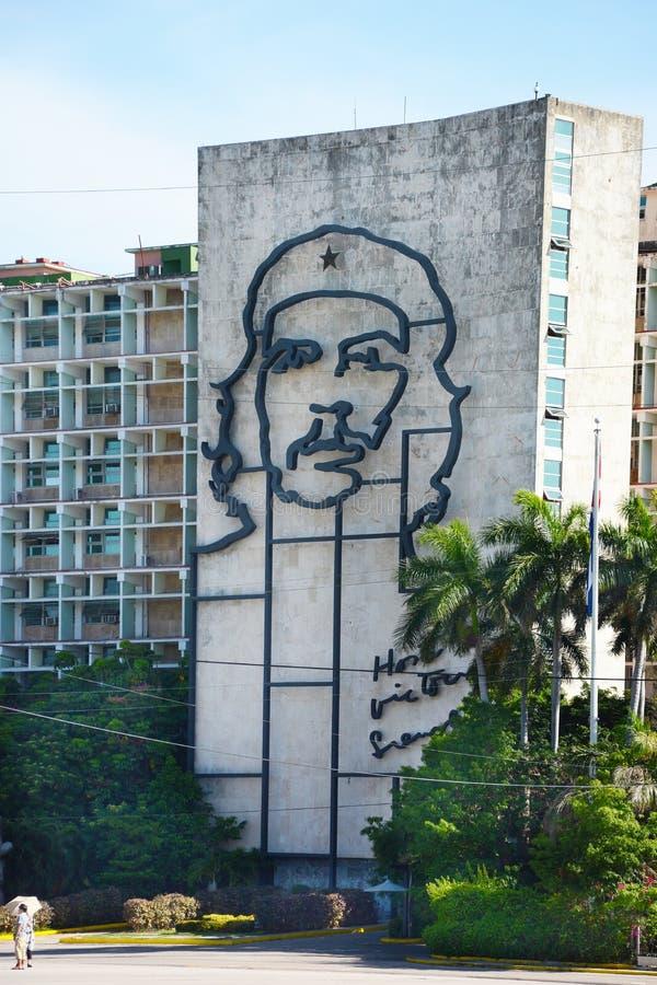 Che Guevara rewoluci kwadrat obraz stock