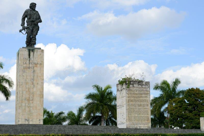 Che Guevara statua i mauzoleum w rewoluci Obciosujemy zdjęcia stock