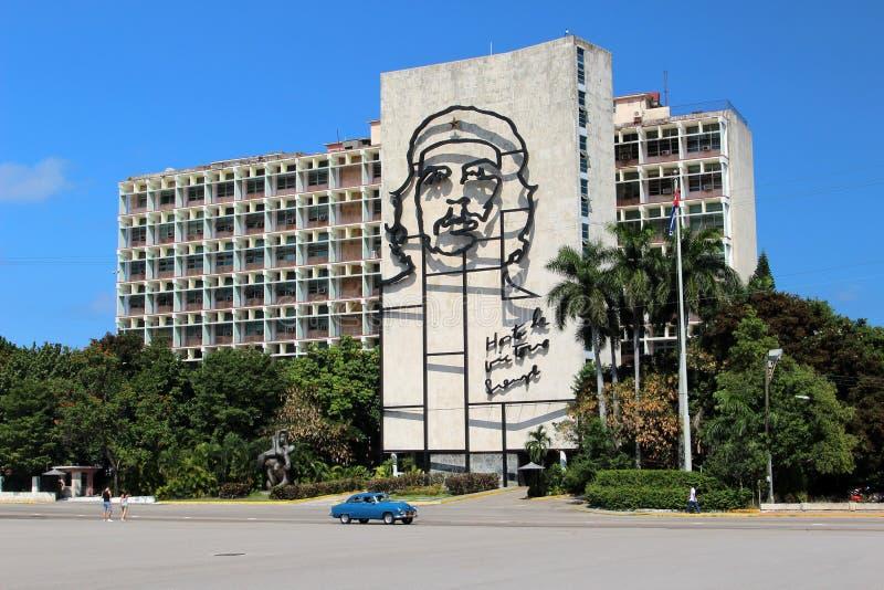 Che Guevara twarz zdjęcie stock
