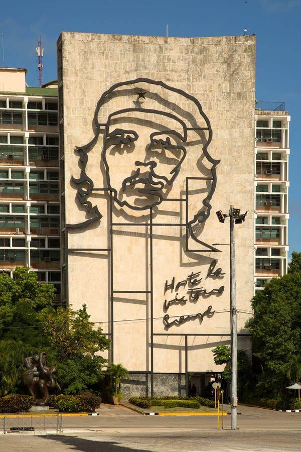Che Guevara w Havana w Kuba fotografia royalty free