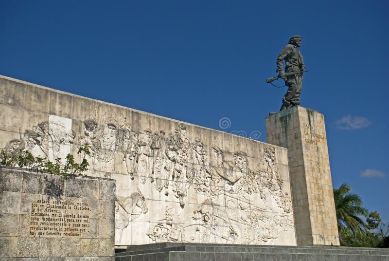 Che Guevara zabytek, Santa Clara, Kuba obraz royalty free