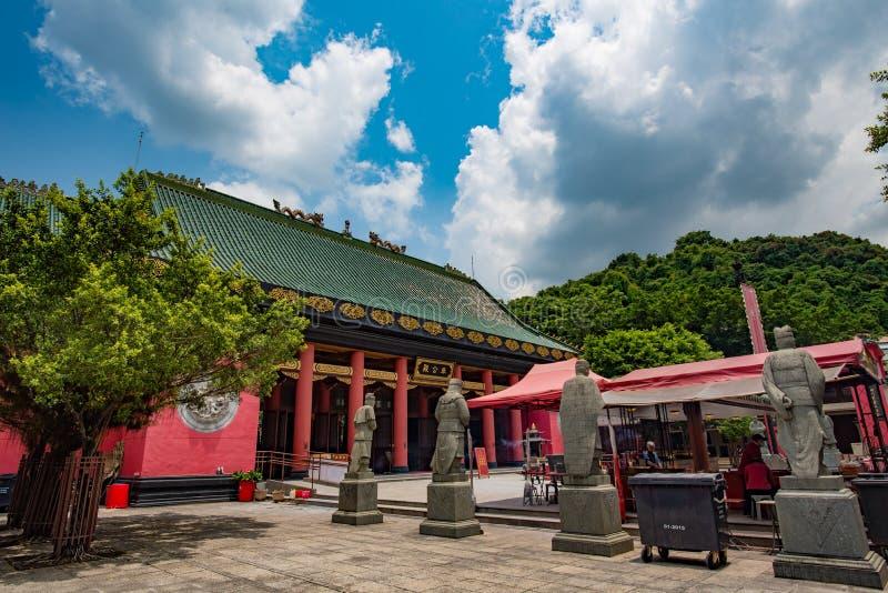 Che Kung świątynia w Hong Kong obrazy stock
