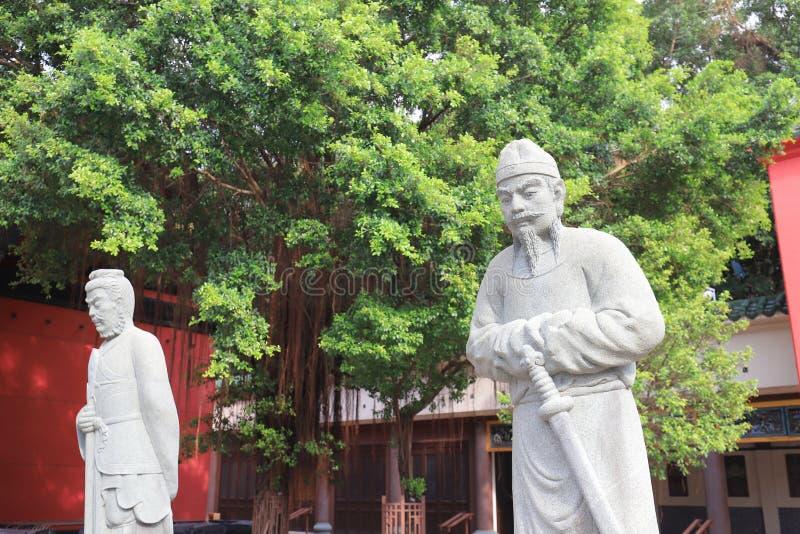 che Kung Miu świątynia w Sha cynie obrazy royalty free