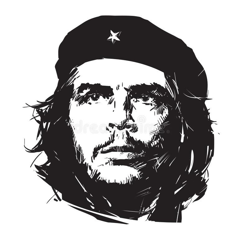 che republica πέσων guevara της Κούβας de Ernesto tres ελεύθερη απεικόνιση δικαιώματος