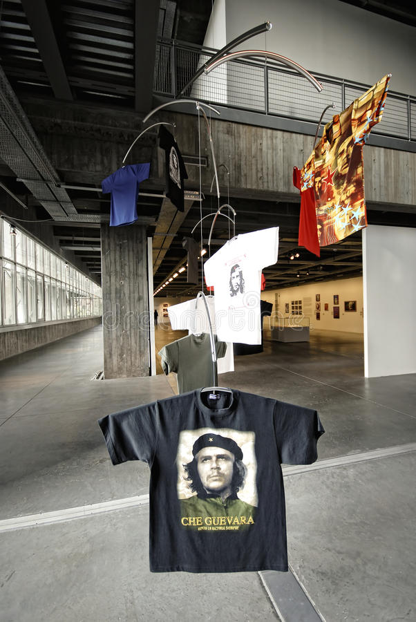 Che sur le T-shirt photo stock