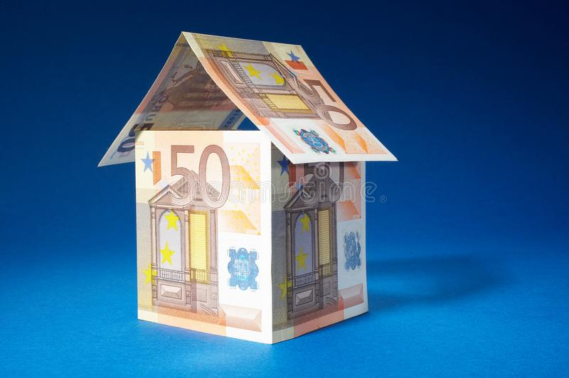 Cheap house stock image