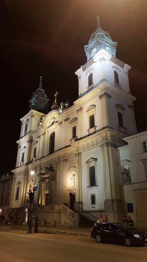 Chearch a Varsavia fotografie stock