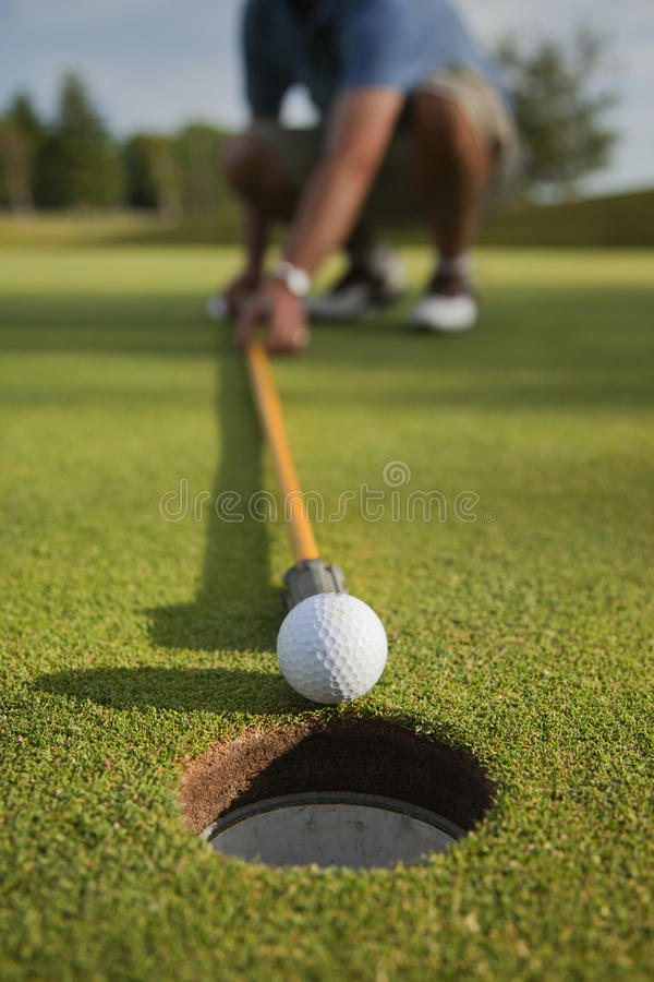 Download Cheat at Golf stock image. Image of golf, ball, outside - 15186353