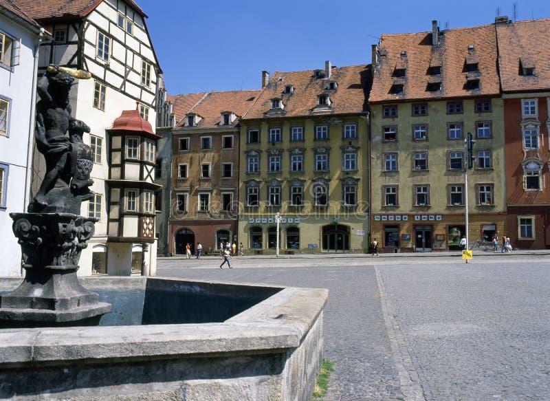 Cheb, República Checa imagenes de archivo