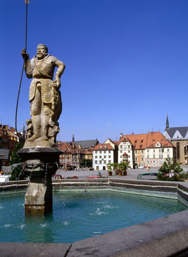 Cheb, República Checa imágenes de archivo libres de regalías