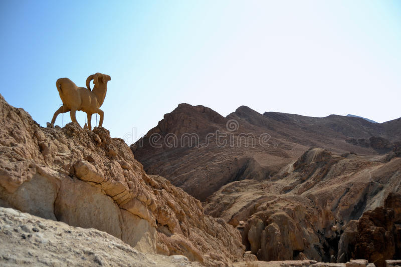 Chebika - Tunesië stock fotografie