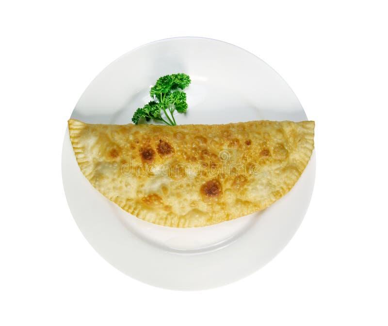 Cheburek con formaggio immagine stock libera da diritti