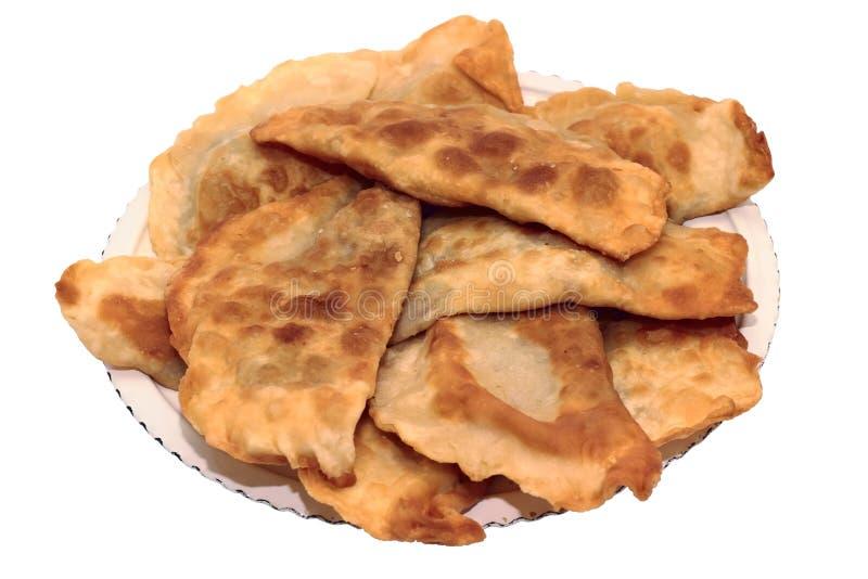 chebureks dish грек стоковые изображения