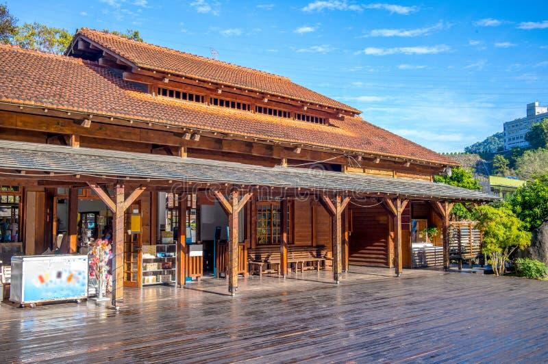 Chechengpost in Nantou, Taiwan stock foto