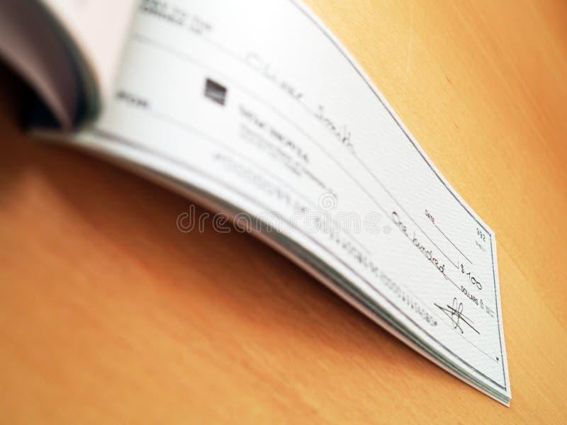 Check lizenzfreies stockbild
