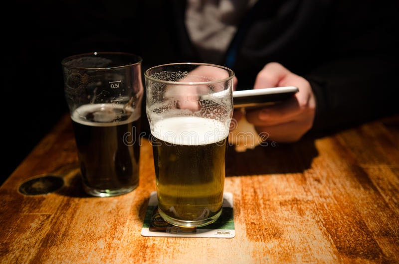 Download Check-in In A Bar Editorial Stock Image - Image: 39179774