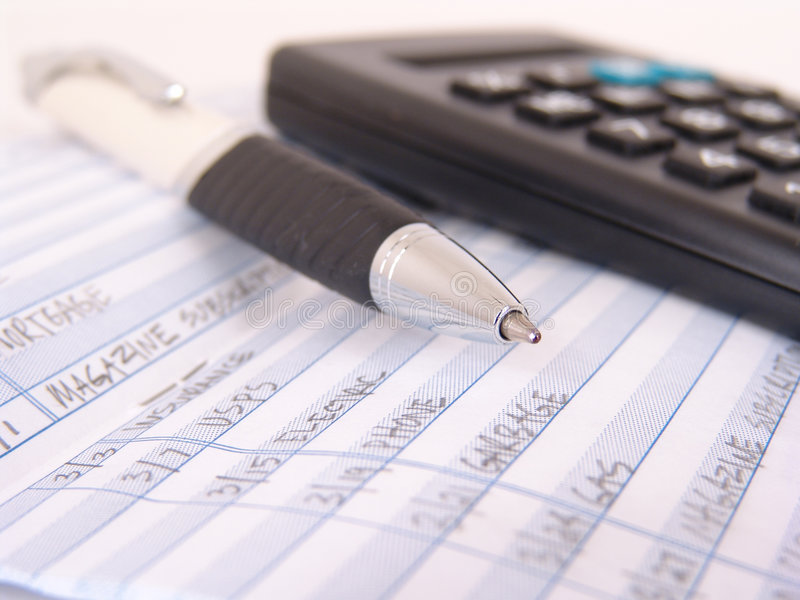 Download Check book register stock image. Image of keeping, expense - 3997559