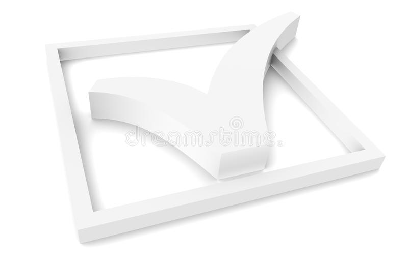 Download Check box stock illustration. Image of mark, sparse, tick - 19993932