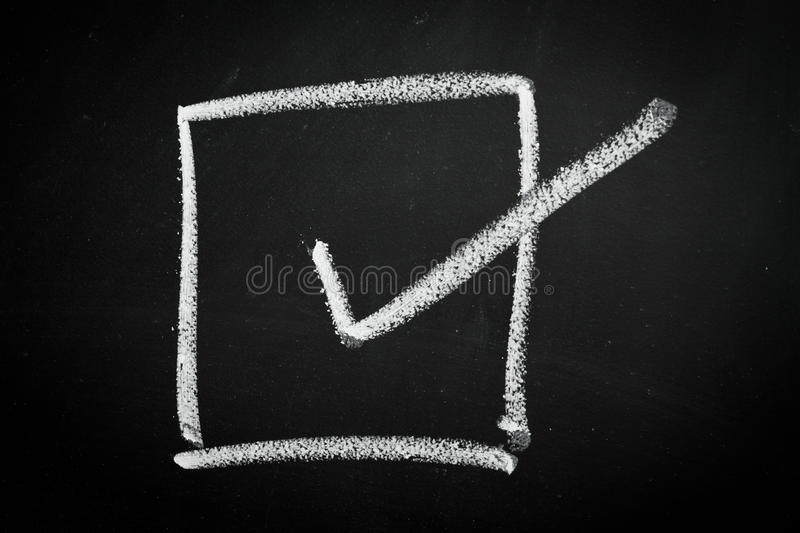 Download Check box stock photo. Image of mark, agree, blackboard - 23050558