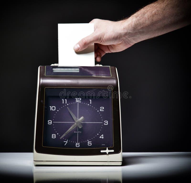 Download Check clock stock photo. Image of clocking, badging, being - 26807440