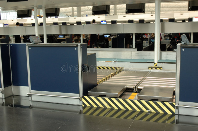 Check-in Counter Stock Photo