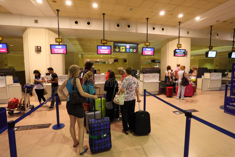 Download Check In Counter At The Airport Editorial Photo - Image: 26175076