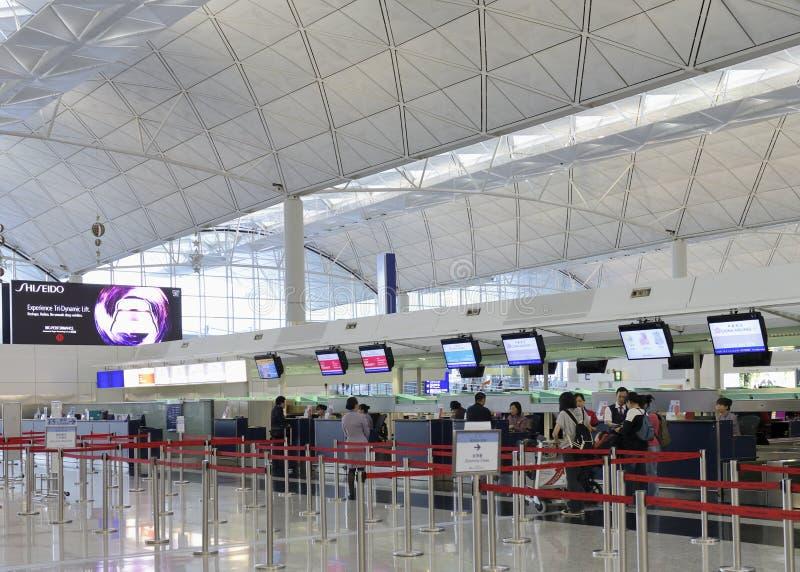 Download Check In Counter In Airport At Hongkong Editorial Photography - Image: 31632507