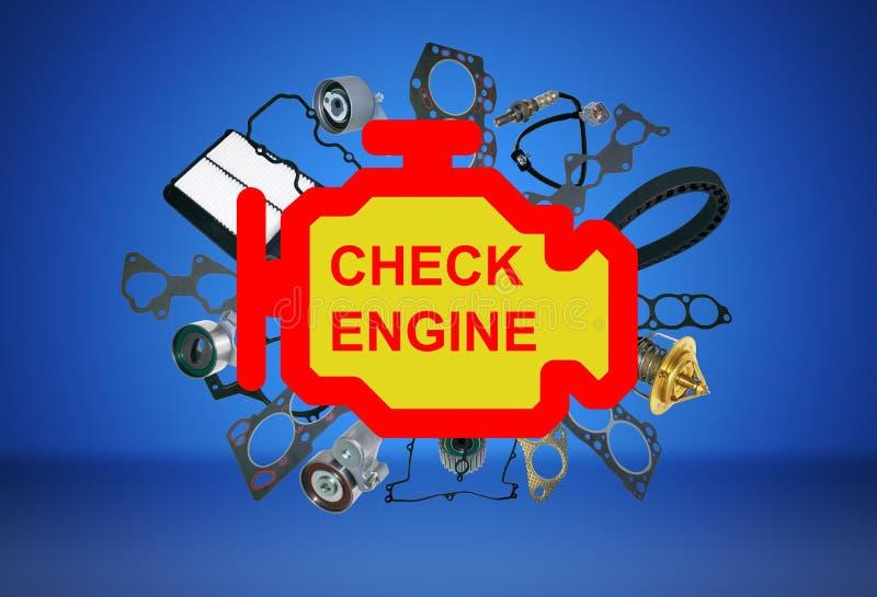 Check Engine Light Symbol Stock Photo Image Of Icon 86076814