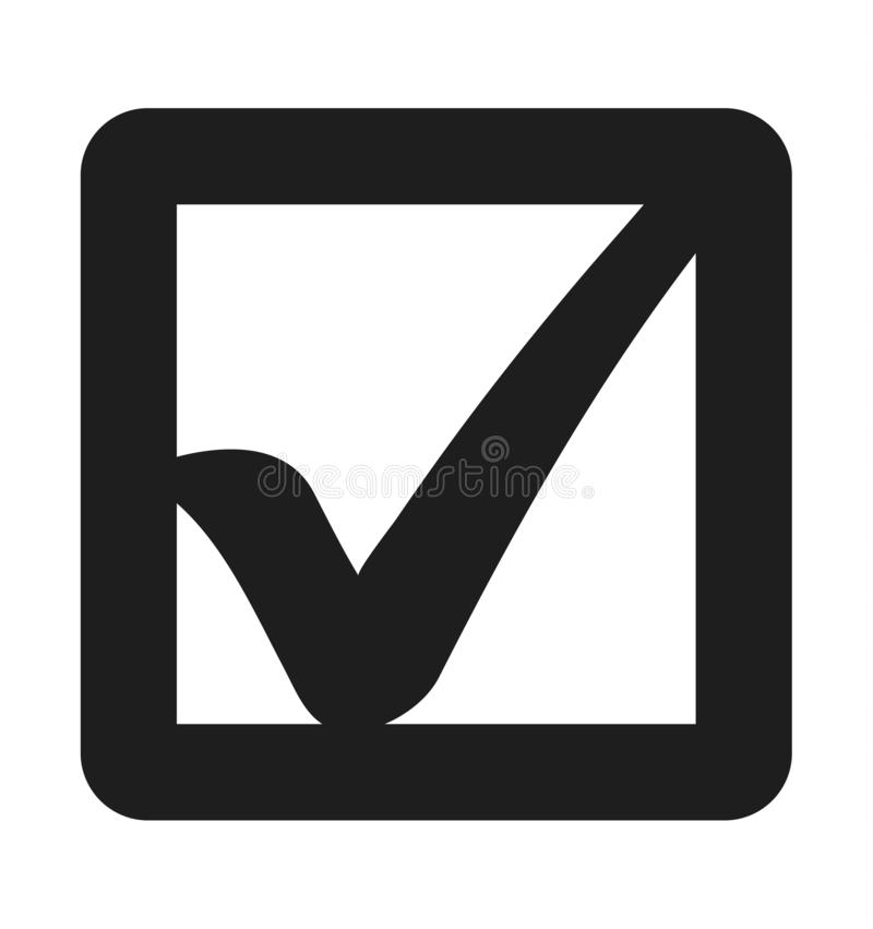 Check List Icon. Flat style vector EPS royalty free illustration