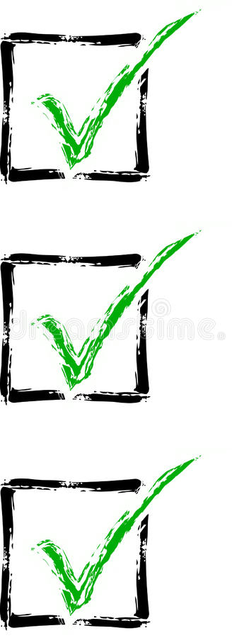 Download Check Mark List Royalty Free Stock Images - Image: 23543589
