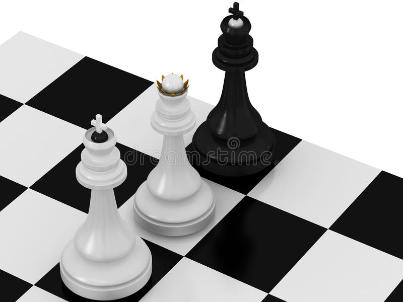 Download Check and mate stock illustration. Illustration of loose - 25131123