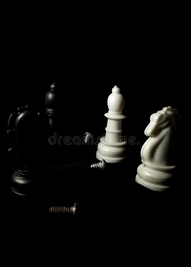 Check mate Chess royalty free stock photography
