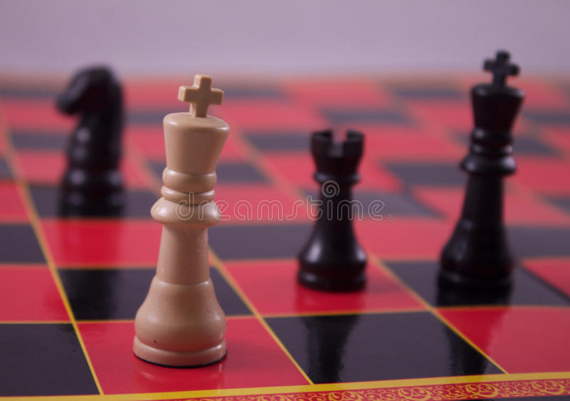 Download Check Mate stock image. Image of detail, king, chessboard - 77250313