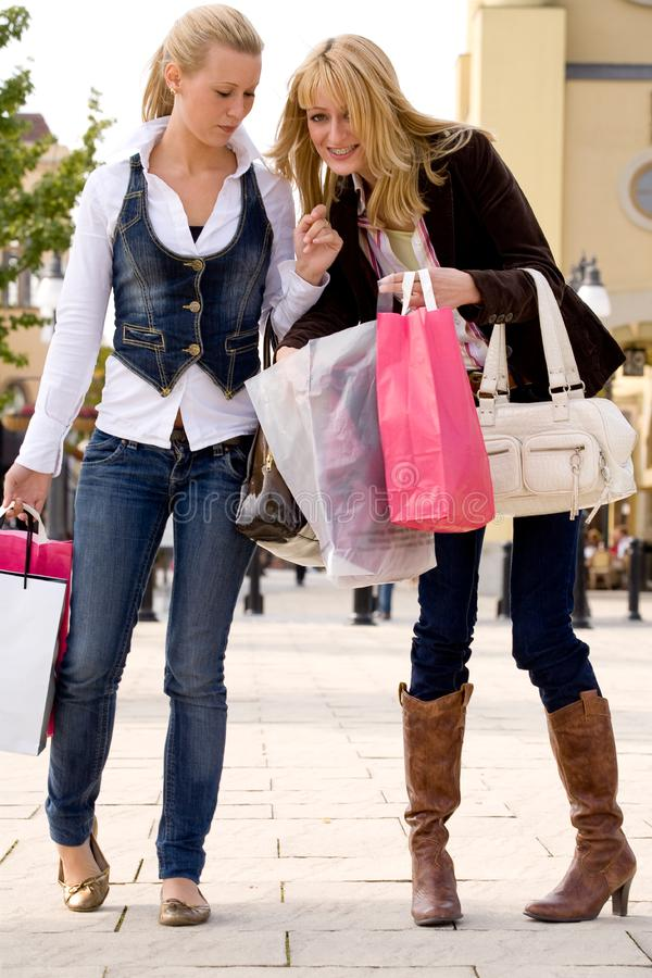 Download Check our bags stock image. Image of caucasian, friends - 6771629