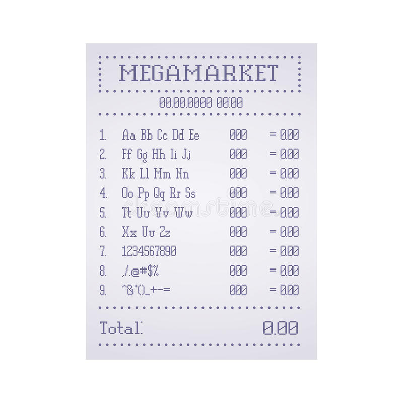 Check out the supermarket template. Vector vector illustration