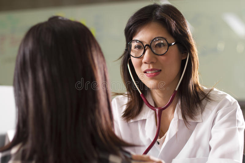 Download Check sickness stock image. Image of asian, face, attractive - 22754449