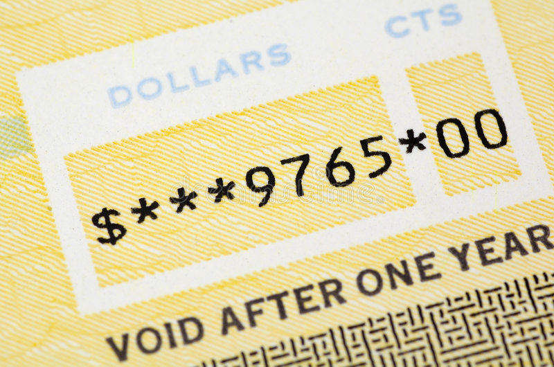 Download Check Sum stock image. Image of void, amount, accounting - 127141