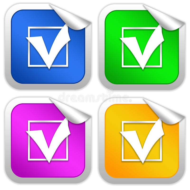 Download Checkbox tick stock illustration. Illustration of background - 13315402