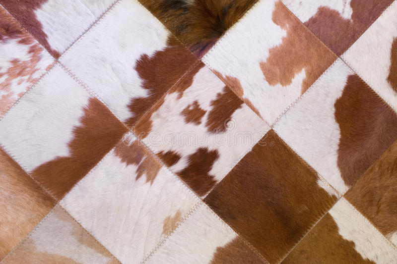 Checked carpet background. Made of Soft fur royalty free stock images